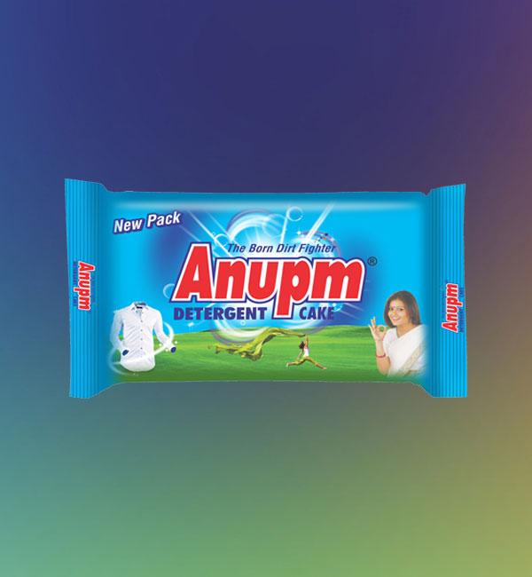 Anupm Detergent Cake