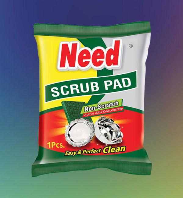 Need Scrub Pad